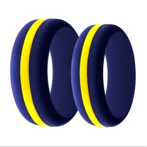 🆕 ⭐️✨Navy/ Military Silicone Ring ✨⭐️
